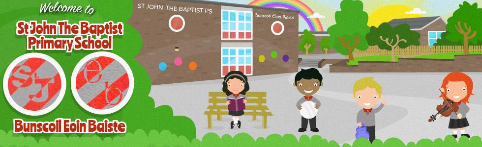 St. John The Baptist Primary School & Irish Medium Unit   250 Garvaghy Road, Craigavon BT62 1EB   +44 28 3833 6211
